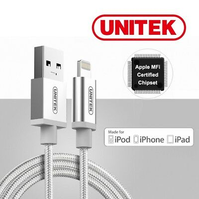 Lightning Cable MFI Apple Certified Unitek Charging Cable Premium Cable iPhone