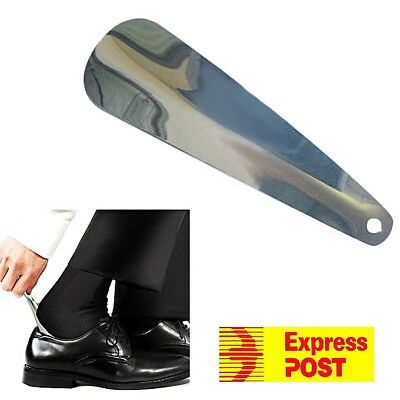 AU Ship 7 Inches Stainless Steel Professional Metal Shoe Horn Double Sided Spoon