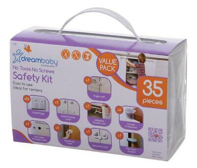 Dreambaby No Screws, No Tools Safety Kit Dreambaby Free Shipping!