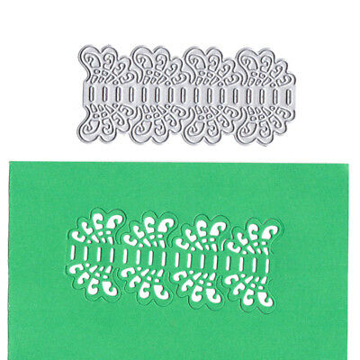 Card Cover Lace Decor Metal Cutting Dies Stencils for DIY Scrapbooking Album_S