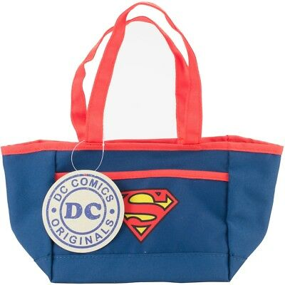 "Everything Mary Dc Comics Mini Tote 11""x5""x6""-superman"