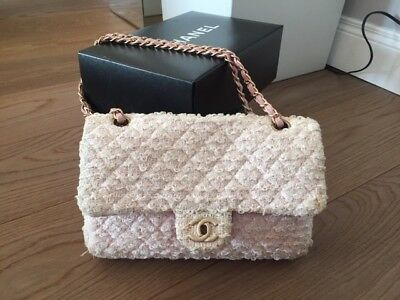 a2f3baaada BORSA CHANEL 2.55 tweed rosa - EUR 1.100,00 | PicClick IT