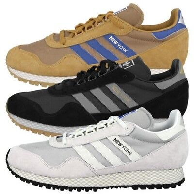 best loved 4f123 31f63 Adidas New York Scarpe da Uomo Originale Sneaker Casual Ginnastica
