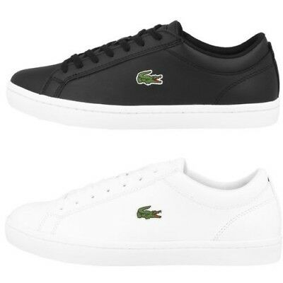 f31dfc43d37c Lacoste Straightset Bl 1 Chaussures Homme Cuir Sport Loisirs Baskets  7-33CAM1070