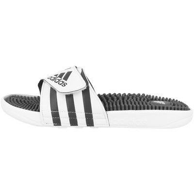online store e57cd 782f0 Adidas Adissage Tongs Sandales Chaussures Pantoufle Blanc 278747