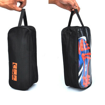 Black Sports Football Boot   Walking Shoe Bag - Storage Holdall for Footwear  New 38b4ae74847c8