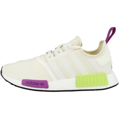 new style efbfc ed916 Adidas Nmd R1 Chaussures Homme Original Loisir de Sport Baskets Blanc D96626