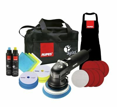 "Rupes BigFoot LHR12E 5"" Duetto Deluxe Edition Detailing Polishing Machine Kit"