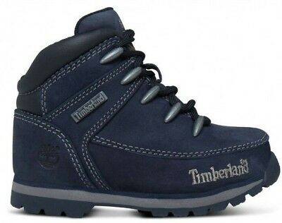 ae1c842fdad Toddlers Childrens Infants Kids Boys Timberland Euro Sprint Boots Shoes UK 5