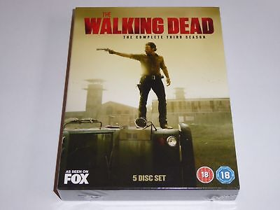 The Walking Dead: Complete Third Season 3 - NEW / SEALED UK DVD SET Series Three
