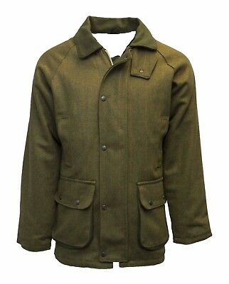 Mens Derby Tweed Shooting Hunting Country Jacket Coat S - XXL Farmers Breathable