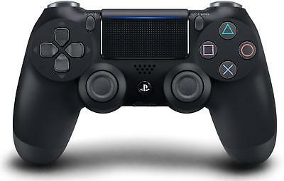 Official Sony PlayStation 4 PS4 Dualshock 4 Wireless Controller Jet Black In Box