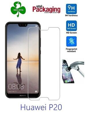 Premium Tempered Glass For Huawei P20 Screen Protector Film Guard New