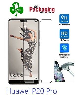 Premium Tempered Glass For Huawei P20 Pro Screen Protector Film Guard New