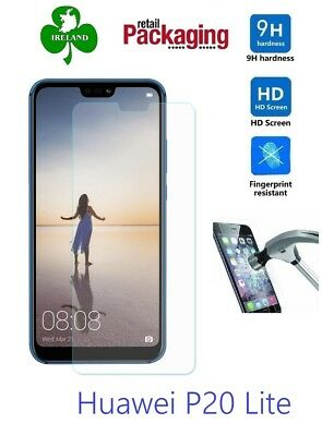 Premium Tempered Glass For Huawei P20 Lite Screen Protector Film Guard New