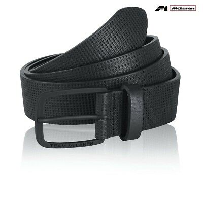 BELT Team McLaren Formula One 1 F1 Team NEW! Alonso Button Premium Black