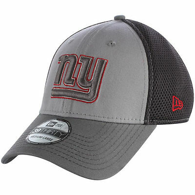 wholesale dealer 35d4e 3eacb New York Giants New Era Grayed Out Neo 39Thirty Flex Fit Hat   Cap size S