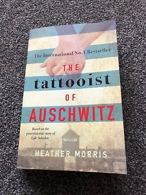 The Tattooist of Auschwitz -  Paperback.