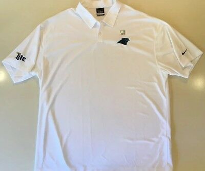 Nike Golf Dri-Fit Carolina Panthers Polo Rugby Collar Button Shirt XXXL 3XL 9fc3954ac