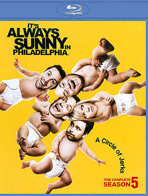 Its Always Sunny in Philadelphia: The Complete Season 5 (Blu-ray Disc, 2010, 2-D