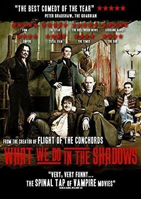 What We Do in the Shadows UK Region 2 DVD (2015) Jermaine Clement ***NEW***