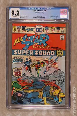 All Star Comics #58 1976 CGC 9.2 1445008004