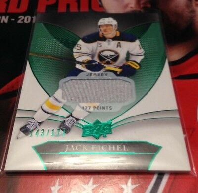 2018-19 Ud Trilogy Green Foil Rookie Premieres & Base Jerseys-U Pick From List