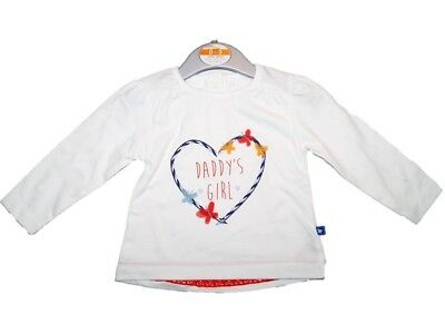 Baby Girls. 3-6 Months. Long Sleeve Top. Daddy's Girl. NWT