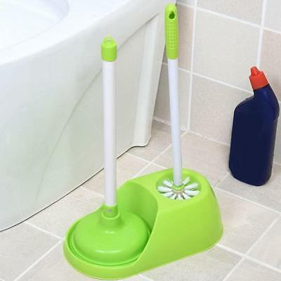 Long Handle Toilet Brush Set Standing WC Cleaning Brush Bathroom Set Accessory