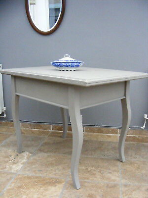 Vintage French rustic pine  farmhouse country shabby chic kitchen / dining table