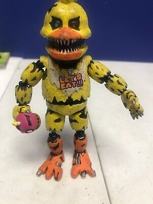 """IN STOCK FUNKO FIVE NIGHTS AT FREDDY/'S NIGHTMARE CHICA 5/"""" ACTION FIGURE 11845"""