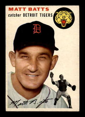 1954 Topps #88 Matt Batts  EXMT X1634530