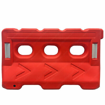 Water Filled Traffic Safety Plastic Barricades - Jersey Barriers - Electriduct