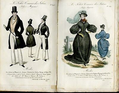 July 1st 1832  MODES SEWING PATTERN - AMAZONE riding COSTUMES