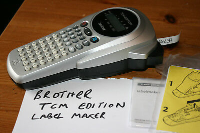 Brother P-touch TCM Edition Label Printer / Label Maker - Used Once To Test
