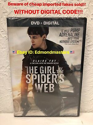 The Girl in the Spider's Web New with Digital BEWARE OF CHEAP FAKES W/O DIGITAL!