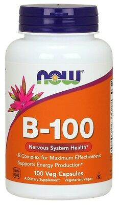 NOW Foods  Vitamin B-100     FREE P&P