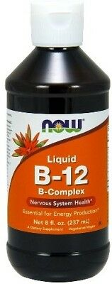 NOW Foods  Vitamin B-12 Liquid B-Complex     FREE P&P