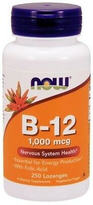 NOW Foods  Vitamin B-12 with Folic Acid     FREE P&P