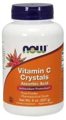 NOW Foods  Vitamin C Crystals     FREE P&P