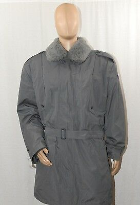 Urban Gray, Grey Czech Army Parka / Military Surplus Coat with Liner & Collar