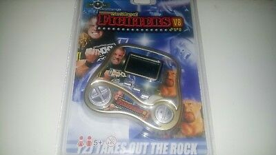 The King Of Fighters V8 Handheld The Rock Y2J Brand New