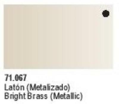 Vallejo Model Air Paint Metallic Bright Brass MINT