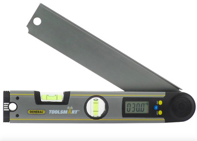 General Bluetooth Digital Angle Finder Protractor Ruler Level Measuring Tool New