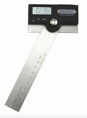 General Stainless Steel Digital Protractor Angle Finder Ruler Measurement Tool