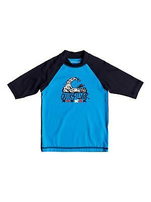 3b93ef33b2 QUIKSILVER™ BOY'S 2-7 Bubble Dream Short Sleeve UPF 50 Rash Guard ...