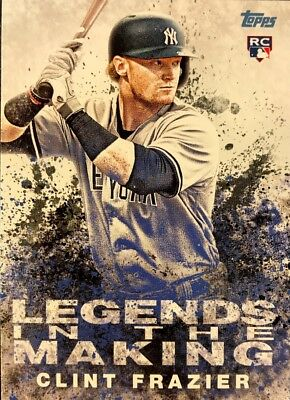 CLINT FRAZIER - 2018 Topps Update LEGENDS IN THE MAKING #LITM-24