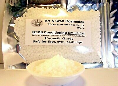 Conditioning BTMS Emulsifier Wax Make Lotion Cream Hair Conditioner Like a Pro!