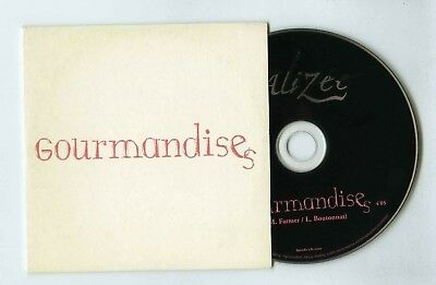 Alizee (Promo) Cd Single Gourmandises(Mylene Farmer)