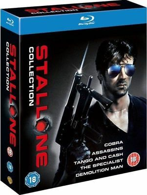 Sylvester Stallone Collection - Coffret 5 Blu-ray neuf sous blister